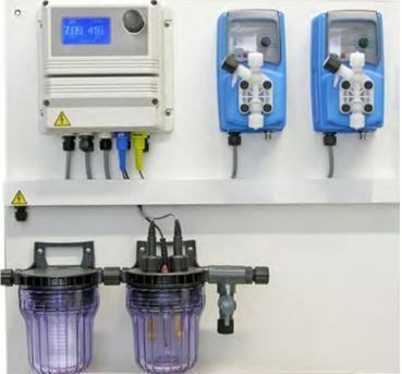 Centraline dosaggio cloro ph redox chemical pools for Cloro liquido per piscine