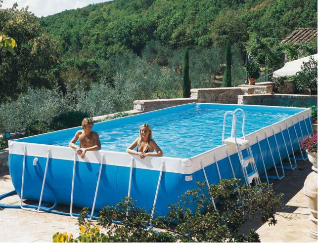 Piscina fuoriterra laghetto classic chemical pools - Piscine laghetto fuori terra ...